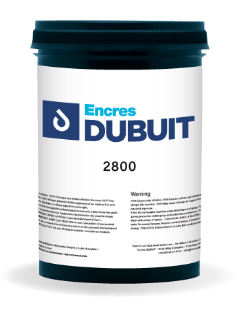 Encres DUBUIT-SCREEN PRINTING-SOLVENT-2800