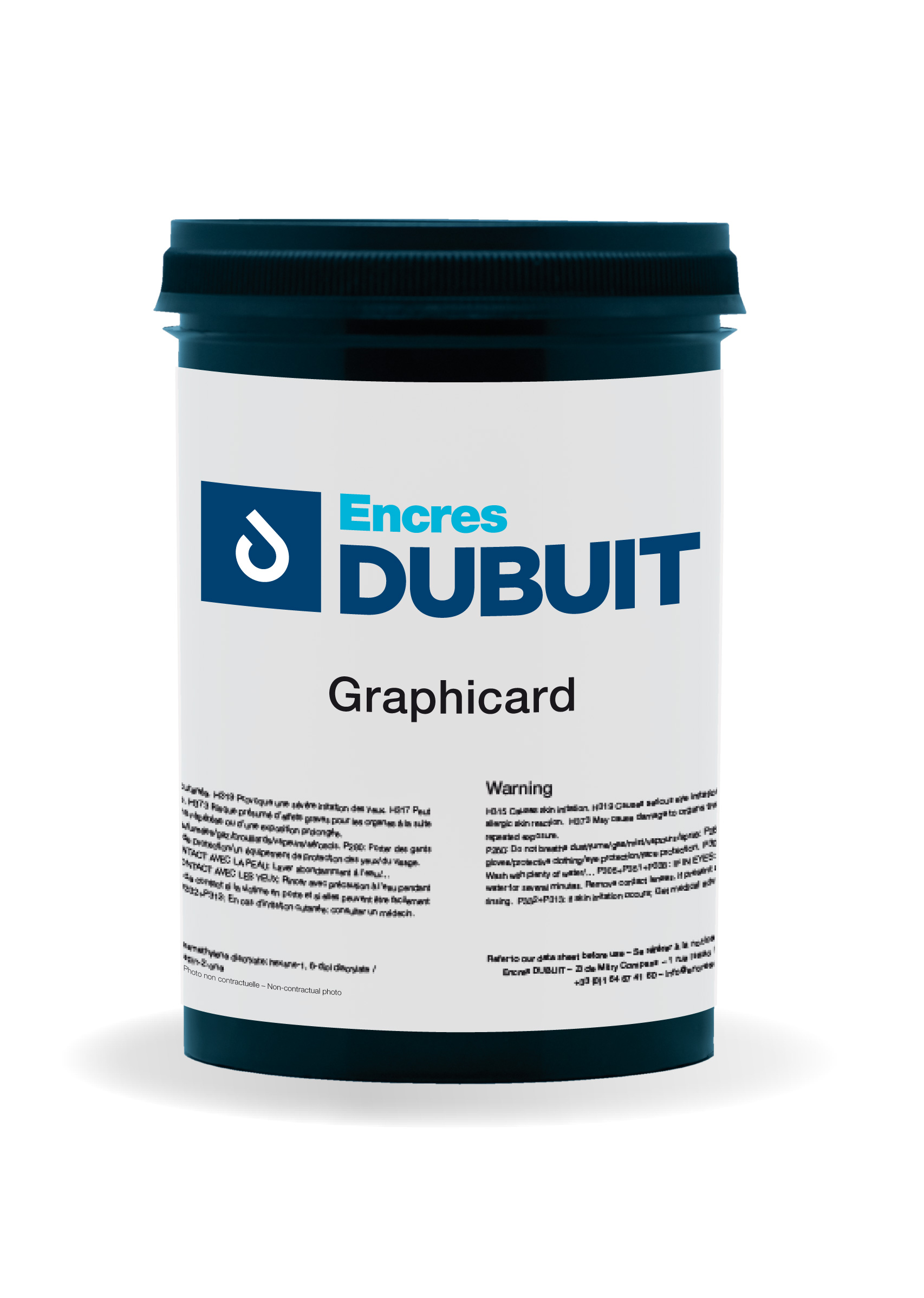 Serie Graphicard Encres DUBUIT Solvent Screen Printing Ink