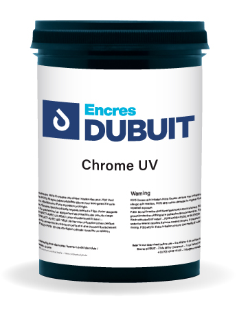 Encres DUBUIT-SCREEN PRINTING-Special Effect-Chrome UV