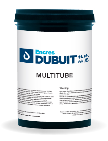 Encres DUBUIT-SCREEN PRINTING-UV-Multitube