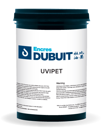 Encres DUBUIT-SCREEN PRINTING-UV-UVIPET