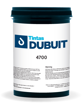 Encres DUBUIT-SCREEN PRINTING-SOLVENT-4700