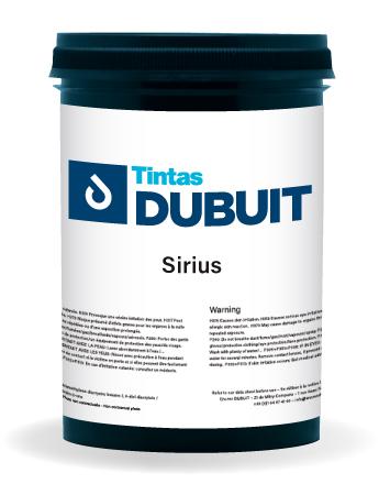 Encres DUBUIT-SCREEN PRINTING-SOLVENT-Sirius