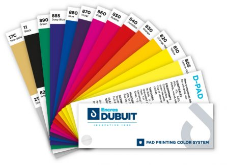 Color shade system PAD printing - Encres DUBUIT