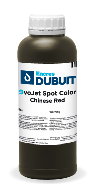 Encres DUBUIT-INKJET-EVOJET Spot Color-Chinese Red