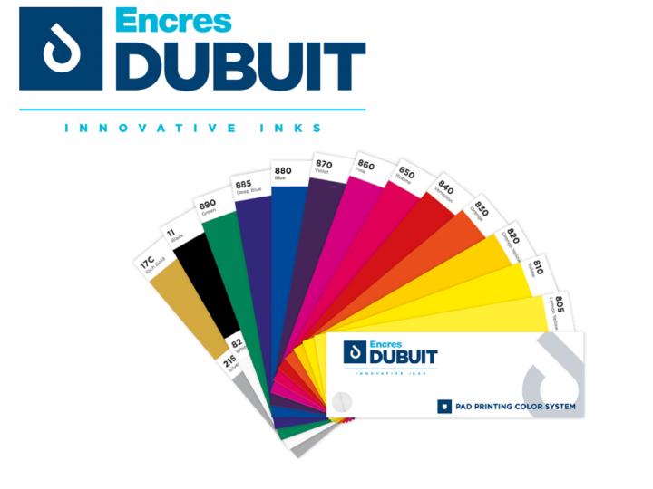 Encres DUBUIT & ses solutions de tampographie