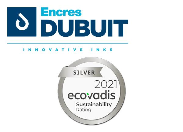 Certification EcoVadis : Médaille d'argent
